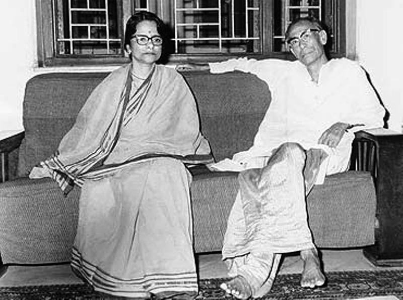 S. D. Burman With His Wife