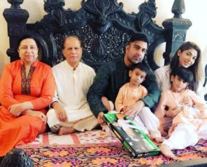 Sana Fakhar with Her Family