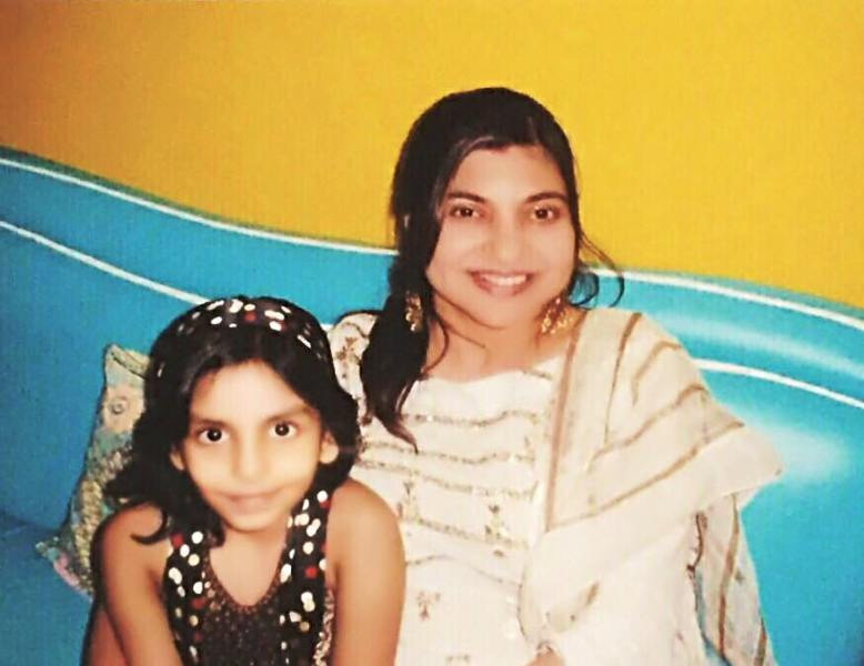 Shannon K. with Alka Yagnik