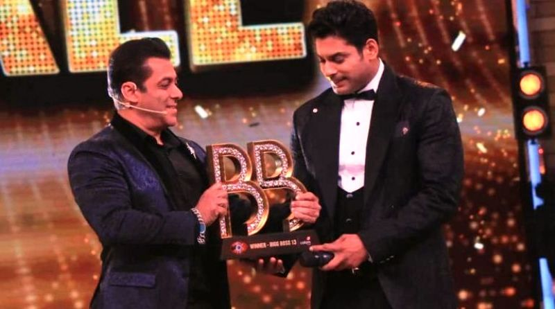 Siddharth Shukla- Winner of Bigg Boss 13