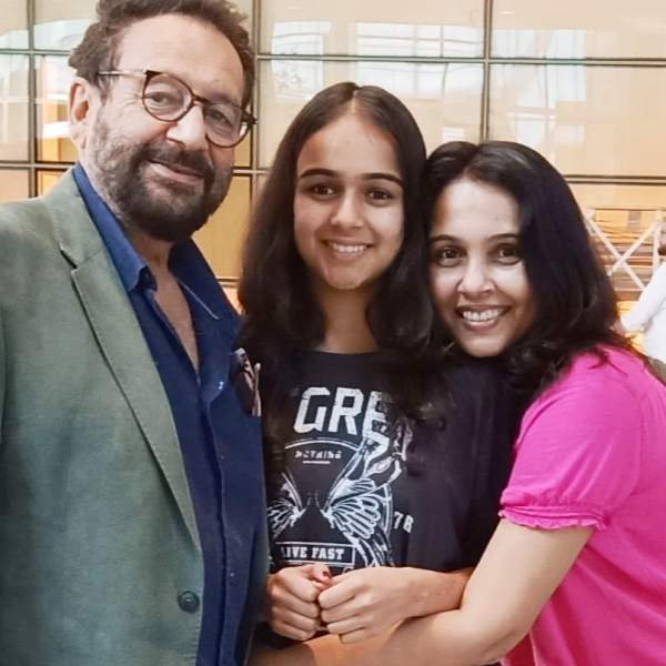 Suchitra Krishnamoorthi with Her Husband and Daughter
