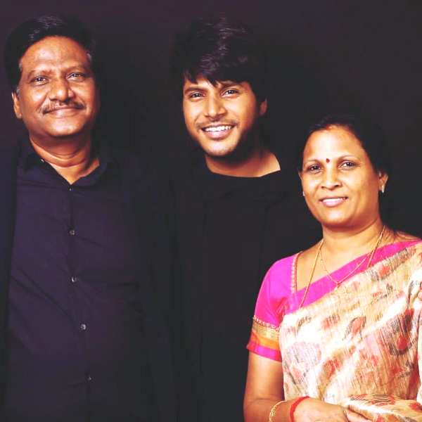 Sundeep Kishan with His Father and Mother