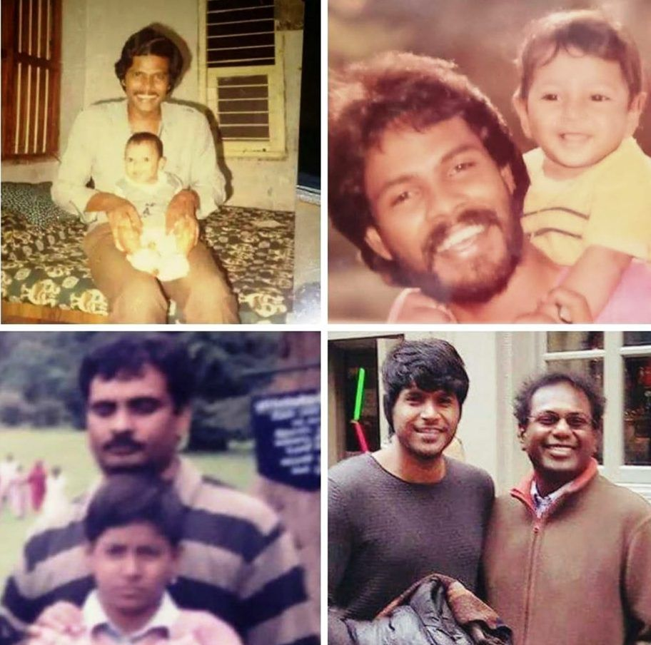 Sundeep Kishan with His Father and Uncles