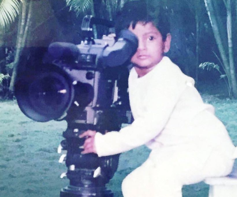 Sundeep Kishan's Childhood Pic