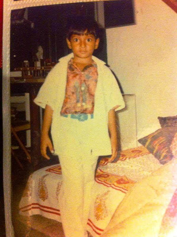 Sundeep Kishan's Childhood Picture