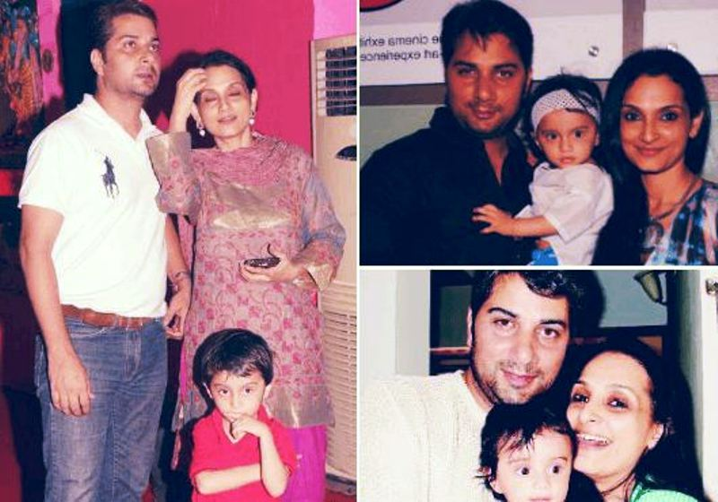 Varun Badola with His Family