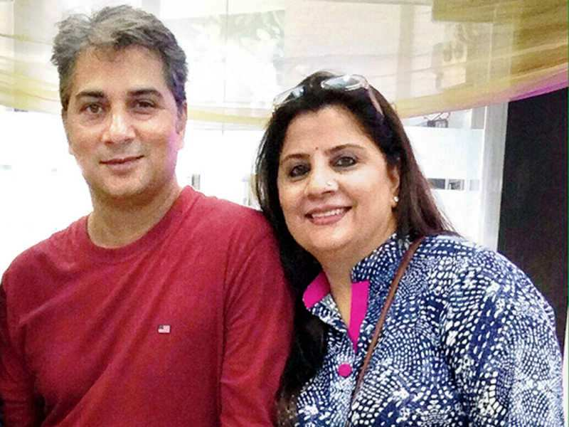 Varun Badola with His Sister