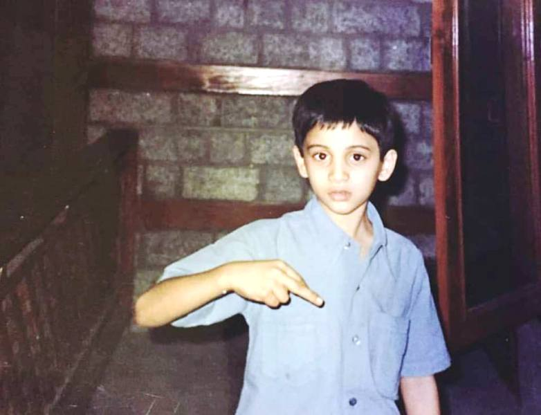 An Old Picture of Rohit