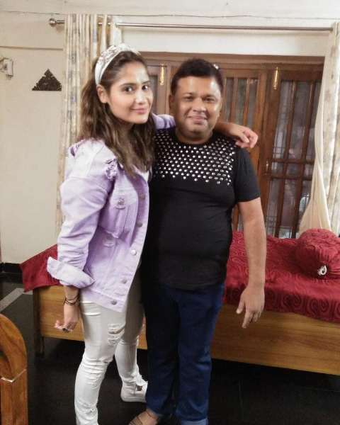 Arti Singh with her brother Vivek Singh