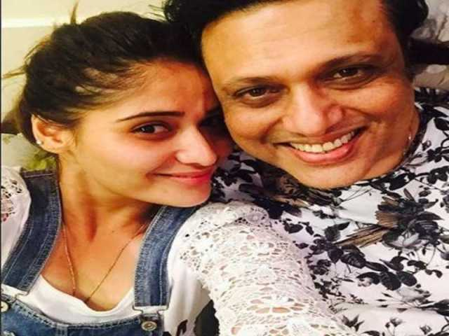 Arti Singh with her uncle, Govinda