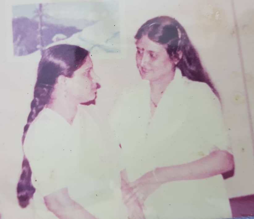 Arti Singh's biological mother and foster mother