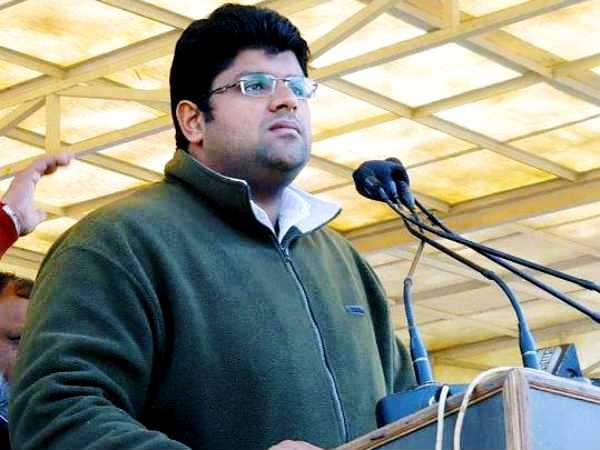 Dushyant Chautala during his younger days