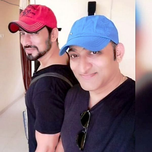 Hrishikesh Pandey with His Elder Brother