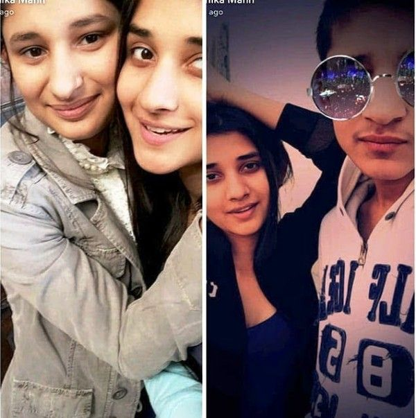 Kanika Mann with Her Sister and Brother