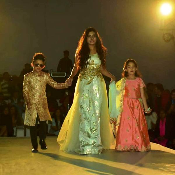 Maisha Dixit Walking on the Ramp