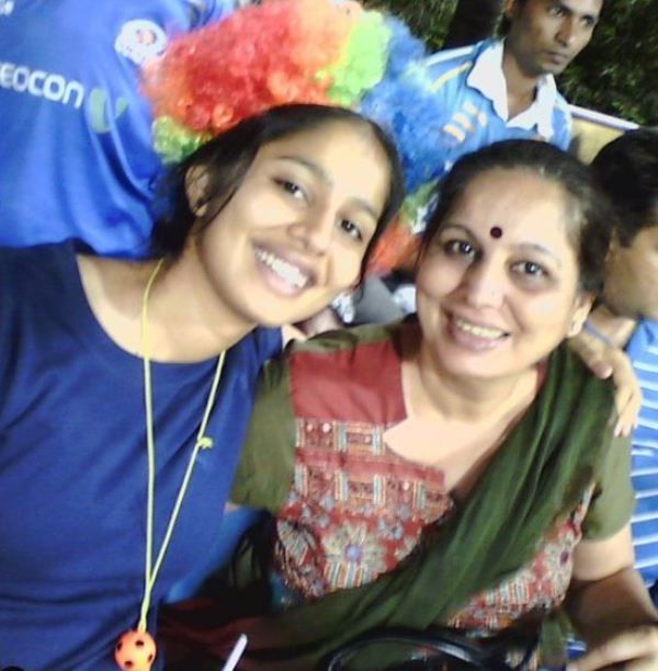 Manasi Joshi with Her Mother