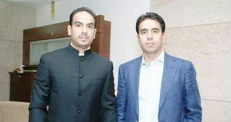 Navin Mehra with His Brother