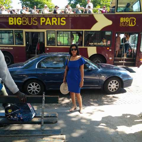 Neha Batham in Paris