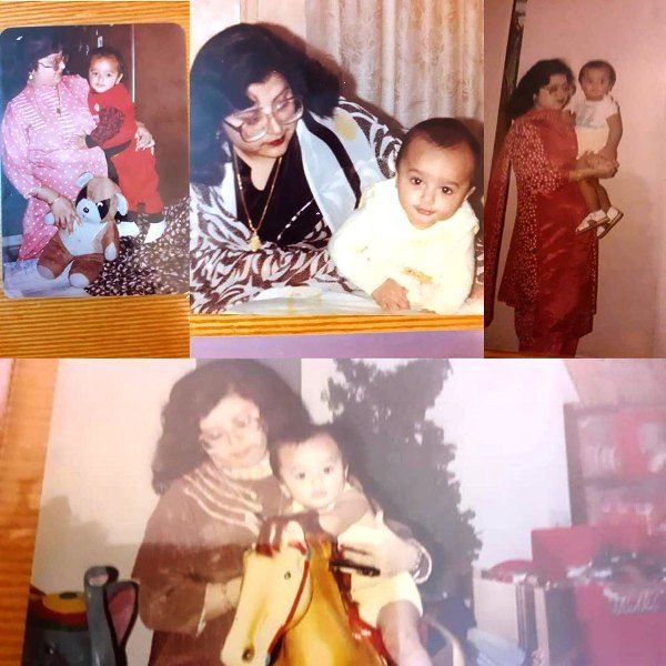 Nishant Malkani's Childhood Picture with His Mother