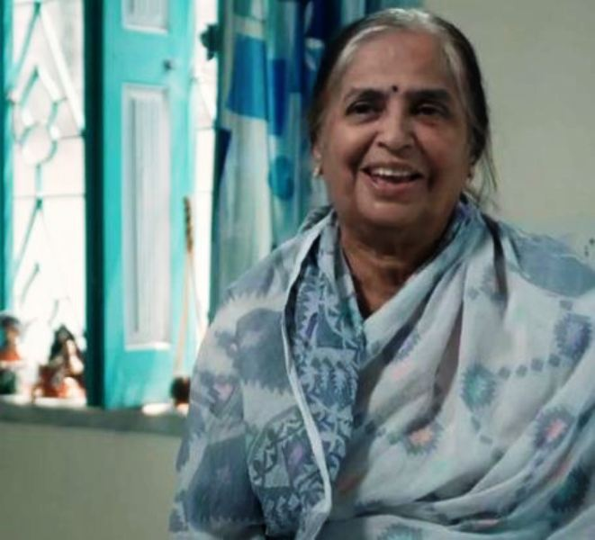 Prity Bhattacharjee's Grandmother
