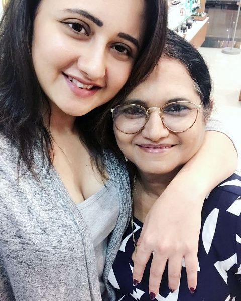 Rashami Desai with her mother