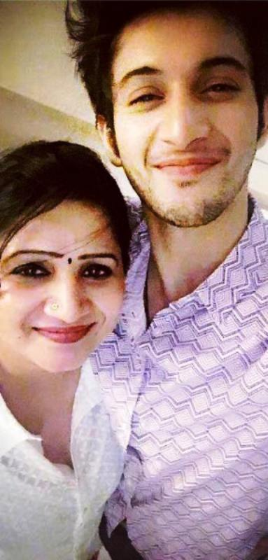 Rohit Saraf with His Mother