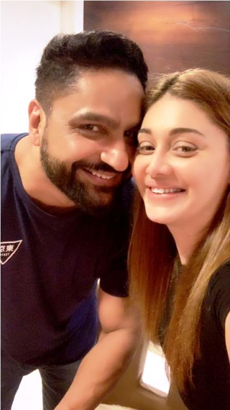 Shefali Jariwala with Her Husband, Parag Tyagi