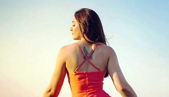 Shefali Jariwala's Tattoo