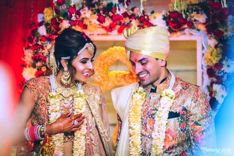Tehseen Poonawalla's Wedding Picture