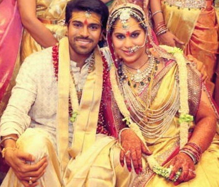 Upasana Kamineni and Ram Charan