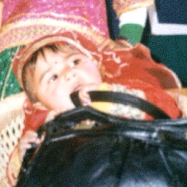 Vaani Kapoor's Childhood Picture