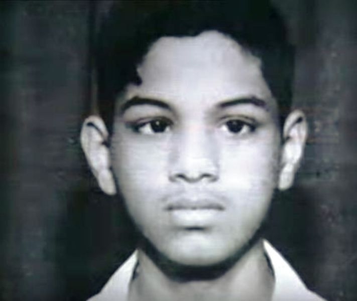 A Childhood Picture of Narayana Murthy