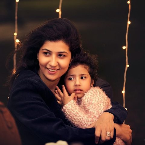 Abhimanyu Tomar's sister and niece