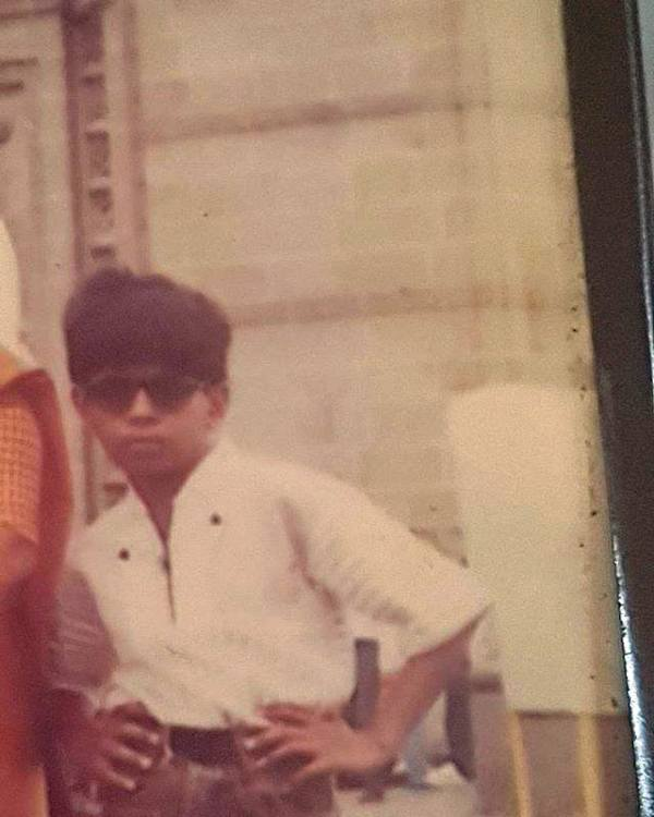 An Old Picture of Ankit Tiwari