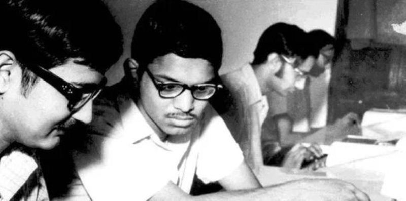 An Old Picture of N. R. Narayana Murthy