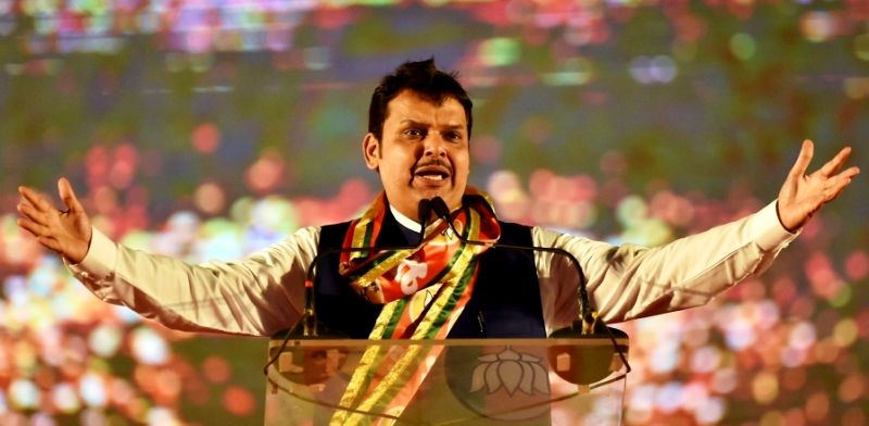Devendra Fadnavis after being appointed as the Chief Minister of Maharashtra