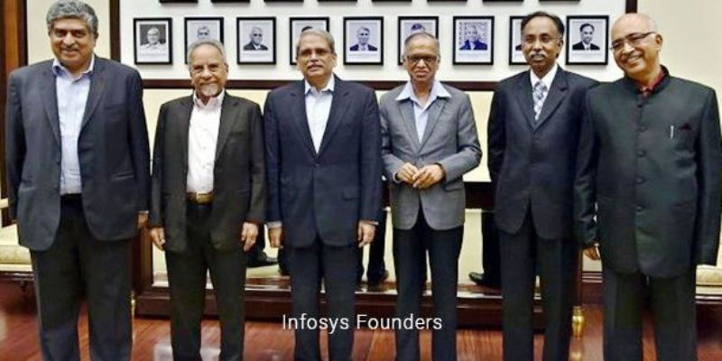 Founders of Infosys