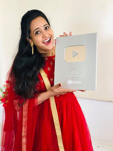Lasya Manjunath's Award-YouTube