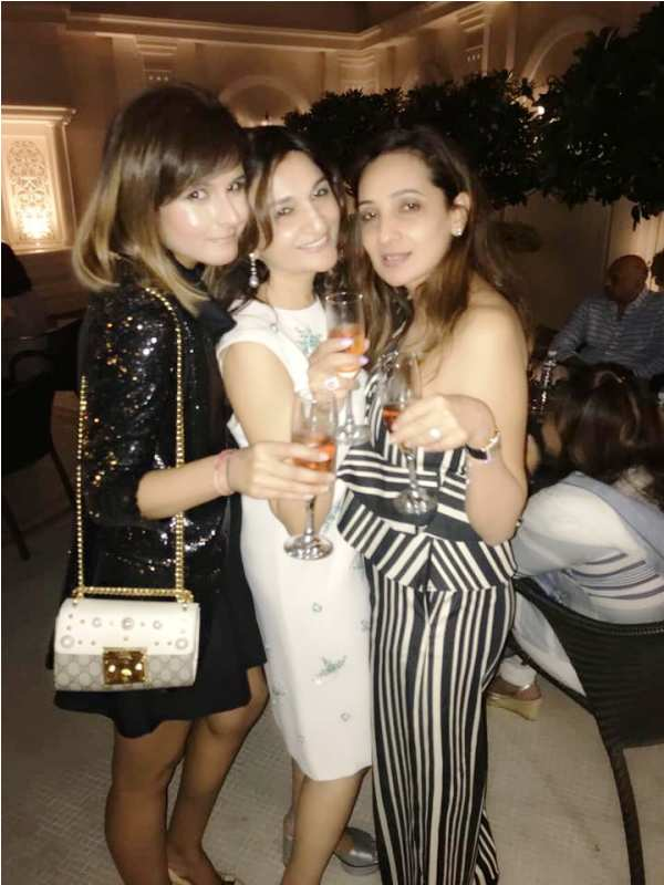 Monicka Vadera Poonawalla in a Party