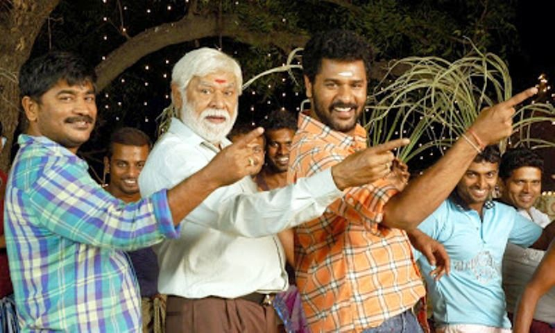 Prabhu Deva with His Father and Brother-Raju Sundaram