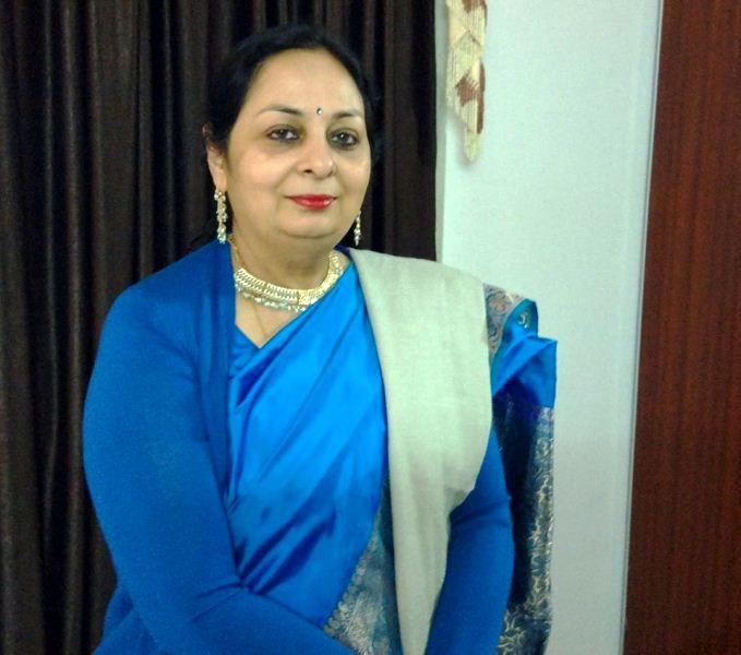 RK Mathur's wife Poonam Mathur