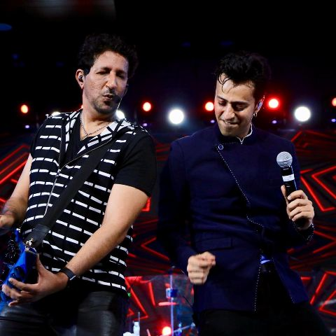 Salim Merchant performing live with his brother