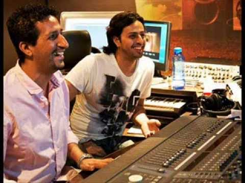 Salim Merchant working in his studio