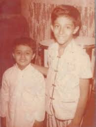 Salim Merchant's childhood picture