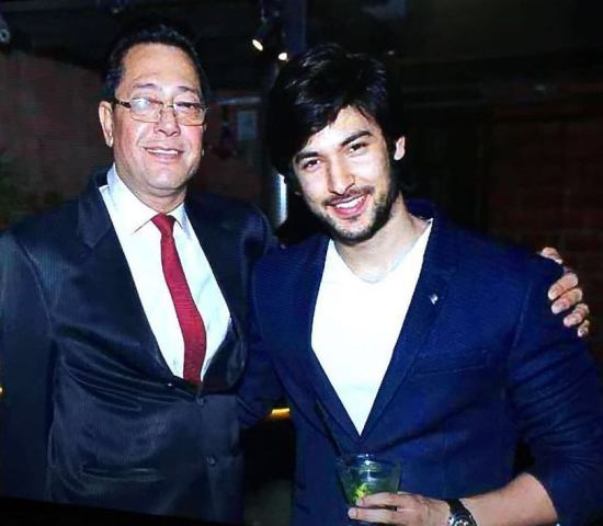 Shivin Narang with his father