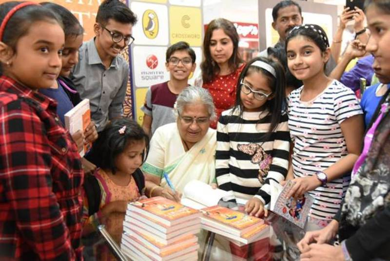 Sudha Murthy on the Event of Her Book Launch