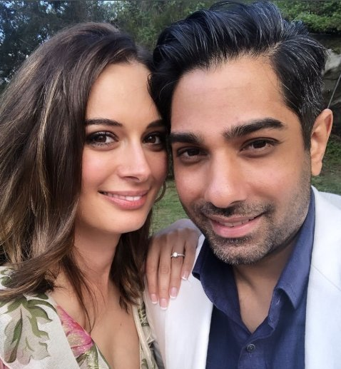 Evelyn Sharma with Tushaan Bhindi