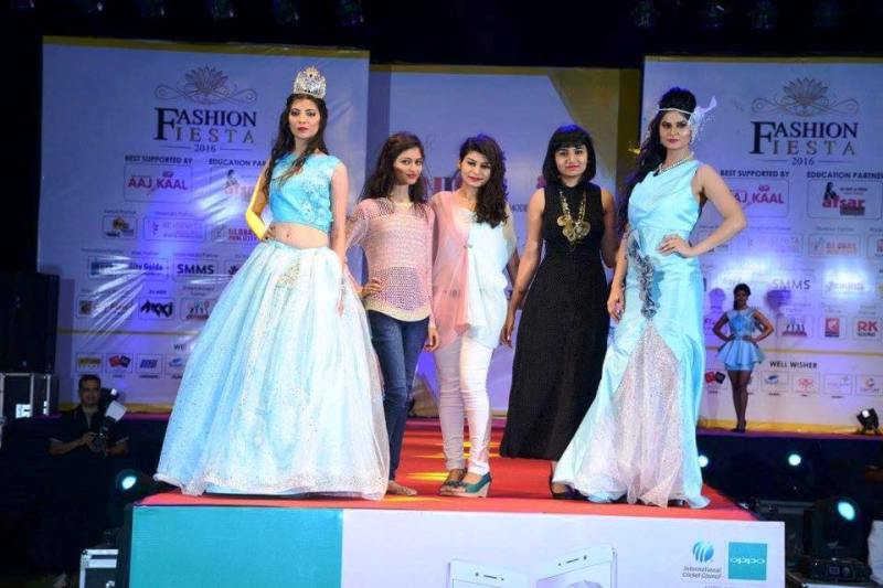 Aabha Paul Walking the Ramp