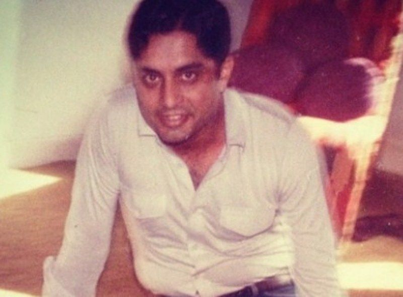 Aditya Puri in his younger days