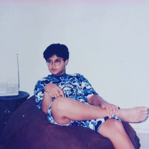 An old picture of Tanuj Virwani